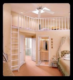 Cute room for girls.