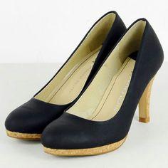 Navy heels from Oriental traffic