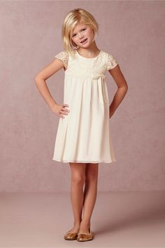 Everly Dress in Bridal Party & Guests Flower Girls at BHLDN