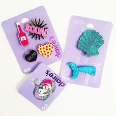 Customize your accessories with our super cute pins like Shop our pins and patches online Justice Accessories, Claire's Accessories, Festival Accessories, Justice Toys, Things To Buy, Stuff To Buy, Cool Pins, Lol Dolls, Pin And Patches