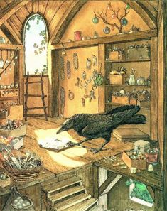 """pagewoman: """" Carmine the Crow by Heidi Holder """" Crow Art, Raven Art, Art And Illustration, Book Illustrations, Baby Crows, Dark Wings, Bird Artwork, Artwork Drawings, Between Two Worlds"""