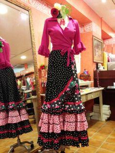 Flamenco Costume, Flamenco Skirt, Flamenco Dresses, Skirt Fashion, Hijab Fashion, Fishtail, High Waisted Skirt, Plus Size, Costumes
