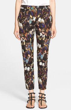 Valentino Butterfly Camo Print Tuxedo Pants available at Tuxedo Pants, 2015 Trends, Butterfly Print, Camo Print, Cotton Silk, Valentino, Personal Style, Pajama Pants, Nordstrom