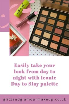 Create a whole host of different looks with the Iconic Day to Slay palette. Perfecting from going from work to a night on the town! I showcase two looks - one for daytime and one for night in my latest review.
