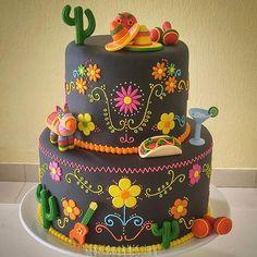 Pirei nesse bolo Mexicano! Mais alguém amou??? By @rebecalhu