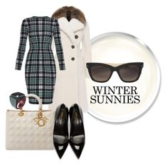 """""""Winter sunnies"""" by beautifulgirlsblog ❤ liked on Polyvore featuring Burberry, Alexander McQueen, Christian Dior, Yves Saint Laurent, Marni and Valentino"""