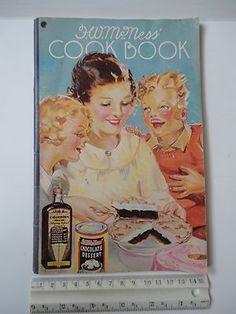Vintage F.W. McNess Cookbook 1935 Cook Book