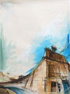 Lucy Jones - Study for Circus Place, Edinburgh