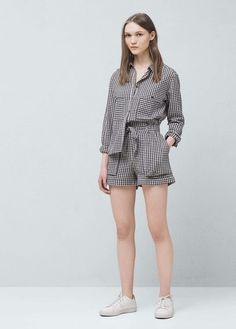 Shorts pour Femme | MANGO France