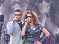 Beyonce and George Micheal ' If I were a boy' - YouTube
