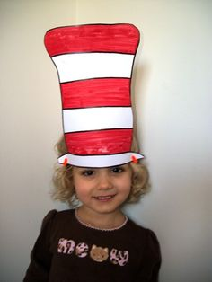 Cat in the Hat craft, dot to dot, tic tac toe, fruit sticks fun  www.inspired-housewife.com