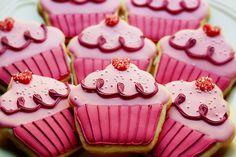 pinkalicious cupcake cookies