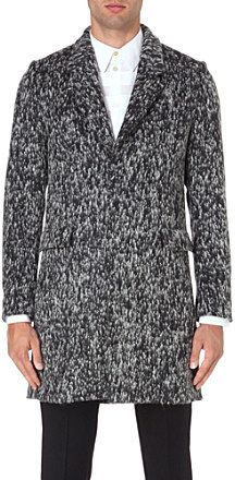Paul Smith Textured wool-blend coat on shopstyle.co.uk