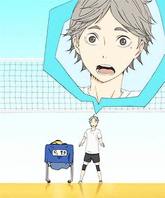 sugawara koushi - cutey :3