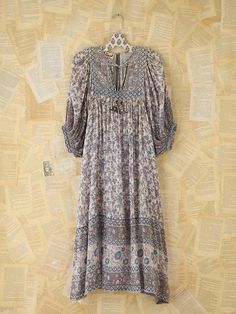 Free People Vintage Patterned Boho Dress