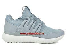 Adidas Tubular Radial - Chaussures de Originals Pas Cher Pour Homme/Femme Light Grey S80112