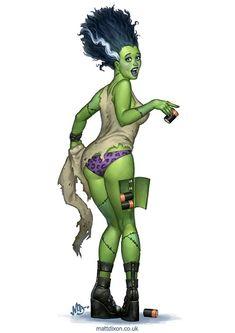 Awesome Halloween Horror Art from Matt Dixon - News - GeekTyrant