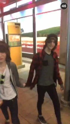 THEY ARE HOLDING HANDS