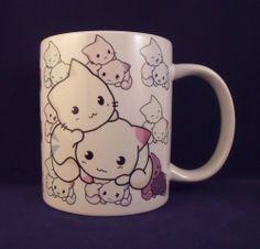 Cute Kitty - Coffee Mug - Kawaii - Cartoon - Anime - Chibi - Cup - Gift - Hello