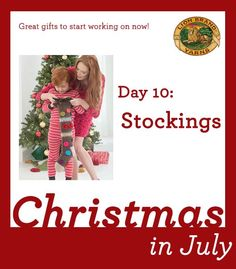 Christmas in July Day 10: Deck the Halls with these Stockings!