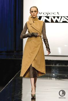 Design by Christopher Palu, Gunnar Deatherage and Sonjia Williams #ProjectRunway Season 10 #MakeItWork #Fall #Outerwear