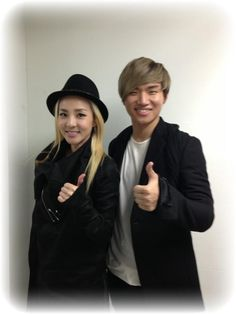 Sandara Park @krungy21: With daesung whom im meeting after a long time~ Smile ^.^