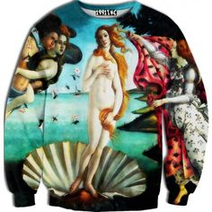 ☮♡ Birth of Venus Sweater ✞☆