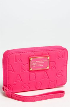 MARC BY MARC JACOBS 'Dreamy Logo - Wingman' Phone Wallet available at #Nordstrom for iPhone $88
