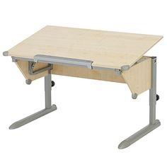 Kettler Cool Top Desk, Maple/Silver $319.99 #bestseller