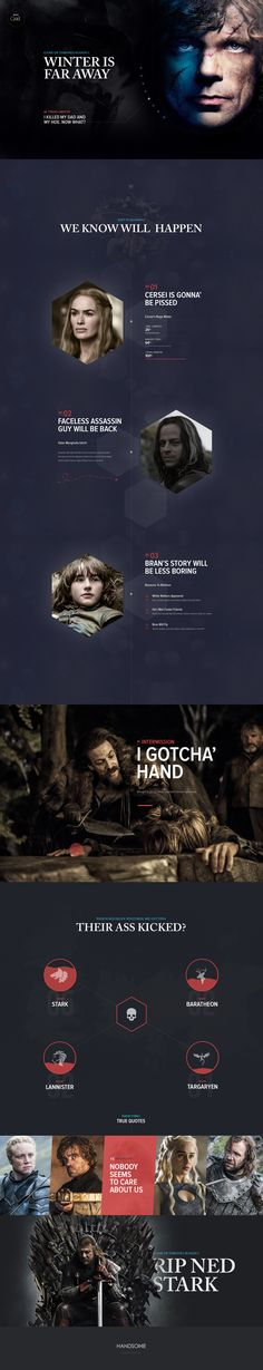 Game of Thrones Season 5 plots via @handsome.is