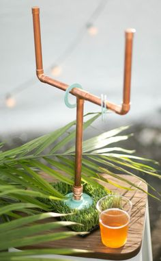DIY copper washers tailgating yard game | sugarandcloth.com