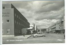 Steinkjer i Nord-Trøndelag Kongensgate Grand Hotell Utg. Grand Hotel, Vehicles, Cars, Vehicle