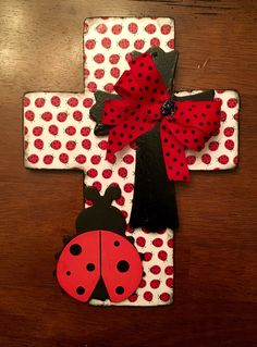A personal favorite from my Etsy shop https://www.etsy.com/listing/400866611/ladybug-cross