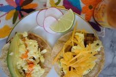 taco bar, breakfast taco