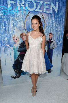 "Video: Bailee Madison Arriving At Disney's ""Frozen"" Premiere"