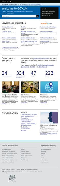 Website 'https://www.gov.uk/' snapped on Snapito!