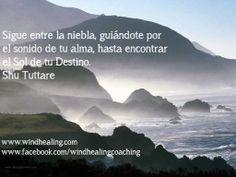 Persistencia. Sigue adelante guiándote por el sonido de tu alma hasta encontrar el Sol de tu Destino. Shu Tuttare. http://www.windhealing.com/inspiraciones