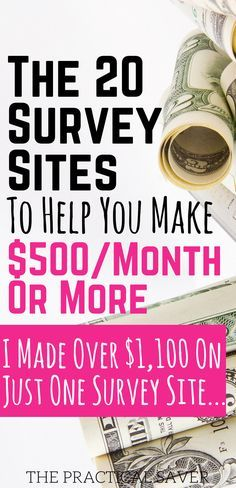 survey sites l make extra money l work from home jobs l make money at home l passive income l side hustle ideas l earn extra money