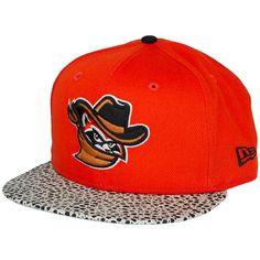 New Era 59FIFTY Cap Pebble Hook Quad Cities River Bandits orange ★★★★★