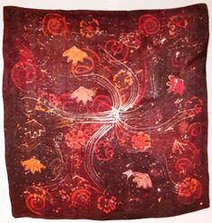 Hand painted batik Kerchief, Hand Painted, Artwork, Pictures, Painting, Photos, Work Of Art, Auguste Rodin Artwork, Photo Illustration