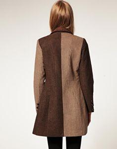 ASOS Slim Coat In Heritage Check $78.28