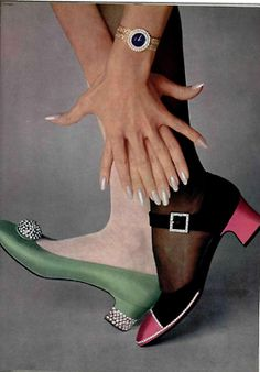 1967 #vintage shoes http://www.etsy.com/shop/TaiJay?section_id=13955853