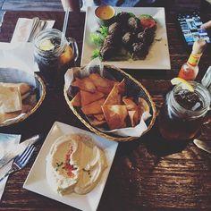 love me some falafels from Pure Pita in Montclair NJ! #purepita #vegan #healthyliving #falafels #hummus