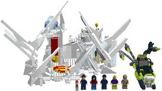 Superman Fortress of Solitude LEGO Proposal