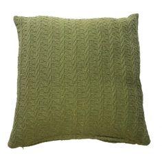 Cushion Cover As Per Throw - Green (40cm x 40cm) - Mode Alive - Home Decor Heaven