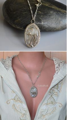 Wolf necklace her his Gift wife unique howling wolf Moon and wolf necklace #wolfnecklace # hernecklace #howlingwolf  #wolfanimalnecklace #giftwifeunique #wolfheadjewelry #necklacewithwolf #silverwolf  #wolfjewelry #moonnecklace #tribalnecklace #wirewrapped