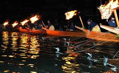 Cormorant fishing is the pride and joy of Gifu City...  http://travel.kankou-gifu.jp/en/see-and-do/18/