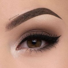 We ❤️ this pretty neutral eye by @denitslava! She used shades Tufted Suede and Chinchilla from our Natural Matte Palette to get the look! #regram #tfnaturaleyes #toofaced