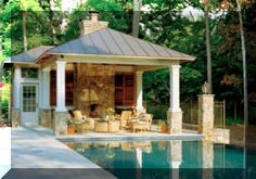 Backyard Pool Houses And Cabanas | Free Quote | Swimming Pool House Builders & Cabanas Contractor Company ...