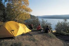Quebec has some of the best wilderness camping in Canada. La Mauricie National Park, just 30 minutes north of Trois-Rivires is known among camping afficionados as THE place to canoe/camp.